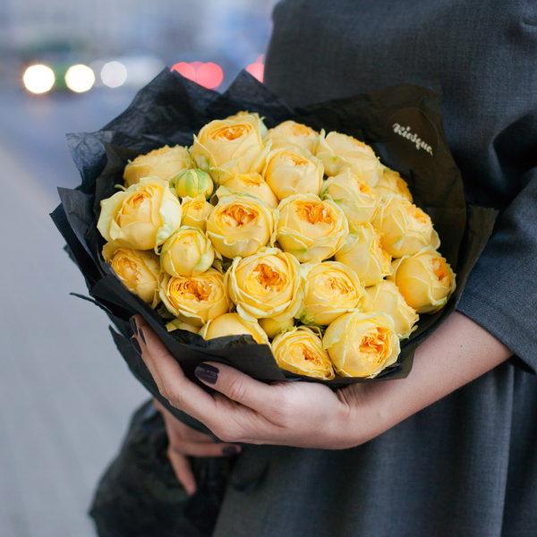 Монобукет из роз Каталина